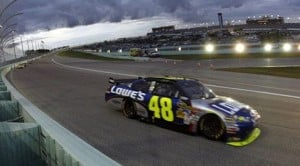 Johnson wins 4th straight NASCAR championship