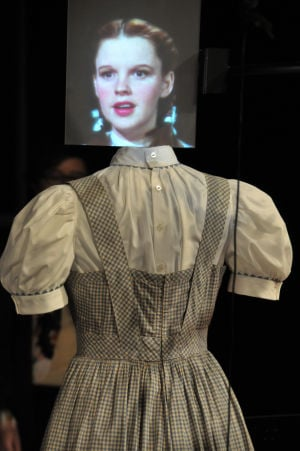 Judy Garland's dress from 'The Wizard of Oz'
