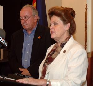 Rep. John Fillmore; Rep. Brenda Barton
