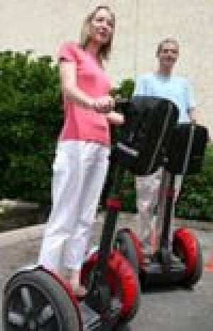 Couple plan Segway scooter tours of Scottsdale 