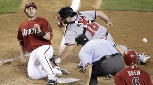 Scherzer hit hard in D-Backs' loss to Braves