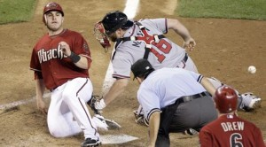 Scherzer hit hard in D-Backs' loss to Braves