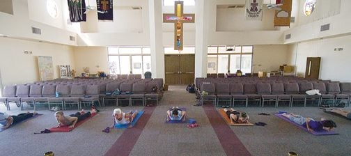 Christian yoga catches on in Valley