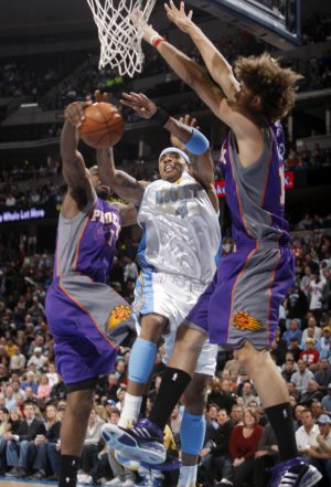 Nuggets beat Suns in overtime, 119-113