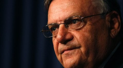 The numbers don't match Arpaio's hype