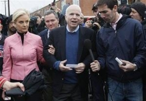 McCain wins South Carolina primary