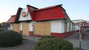 Burned Dairy Queen slows Mesa strip mall's trade