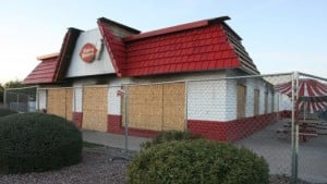 Burned Dairy Queen slows Mesa strip malls trade 