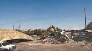 ASU razes building, saves geodesic-dome roof
