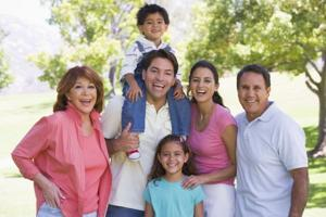Free family portrait for Mother's Day