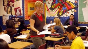Higley teacher a finalist for teacher of year