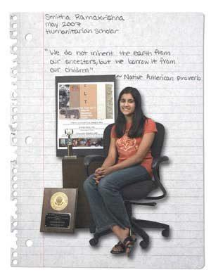 Smitha Ramakrishna: Humanitarian Scholar