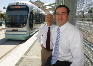 Entrepreneurs focus on property near light rail
