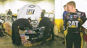 Pole-sitter Menard wrecks in practice