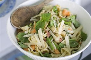 Food Melon Pasta Salad
