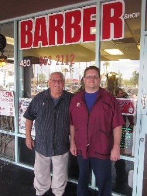 Papa Joe and Son's Barber Shop