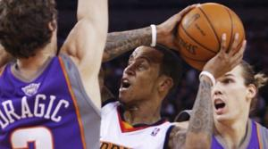 Maggette, Ellis lead Warriors past Suns
