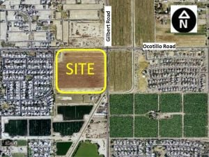 Gilbert and Ocotillo roads site