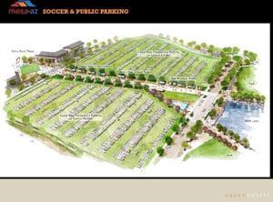 Cubs Mesa site plan