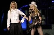 Britney, Justin perform separately at Madonna show