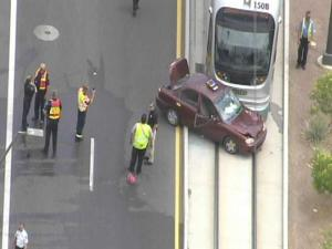Tempe light rail collision