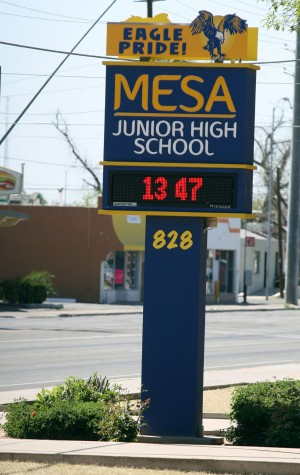 Mesa Junior High School campus