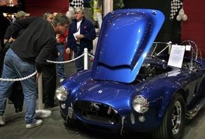 Barrett-Jackson downsizes auto auction