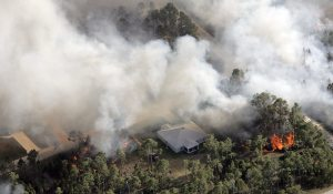 Wildfires force evacuations in central Florida