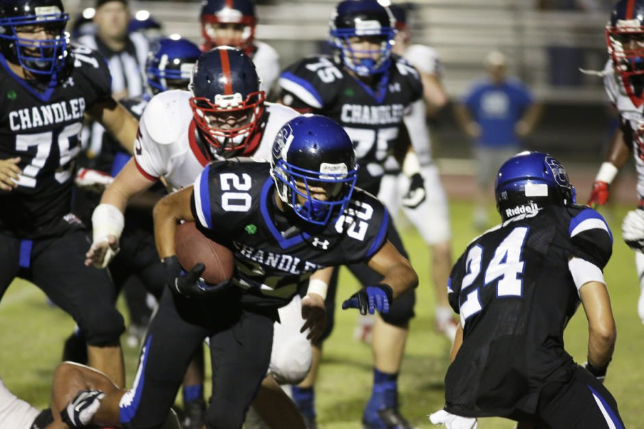 No. 4 Chandler (Div. I) at No. 8 Buena (Div. II)
