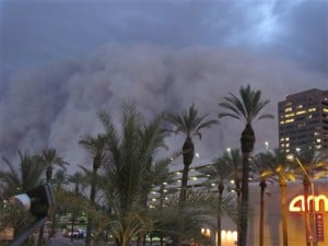Dust storm