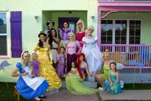 Princess Tea Party at Mrs. Potts Tea Party in Mesa