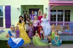 Princess Tea Party at Mrs. Potts Tea Party in Mesa