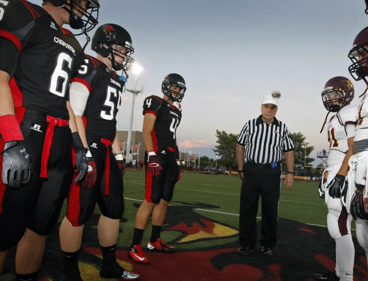 Salpointe Catholic Football at Chaparral