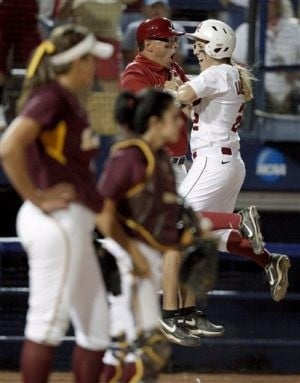 ASU softball bounced from World Series