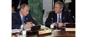 Bush, allies seek consensus on Mideast
