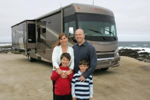 Touring family debunks RV fuel cost fears