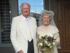 Glenna and Ila McCollum 65th Wedding Anniversary, July 29 2012