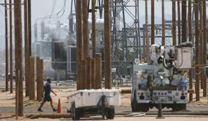 SRP Transformer Fire
