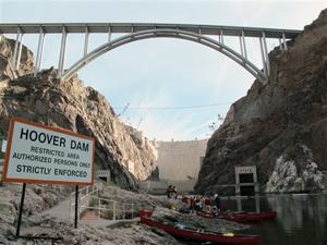 Travel-Trip-Kayaking Near Vegas