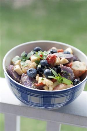 Food Patriotic Potato Salad