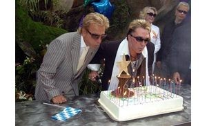 Show biz partners Siegfried, Roy honored