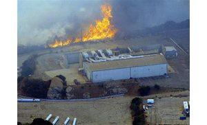 Hundreds evacuate as Calif. fire threatens
