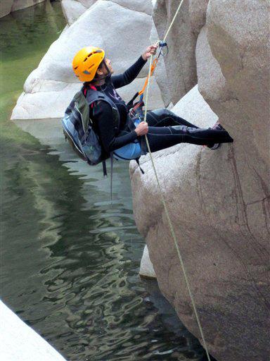 Travel-Trip-Arizona Canyoneering