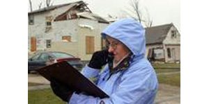 Severe storms cause damage in four states
