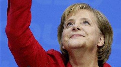Conservative Merkel captures 2nd term in Germany 