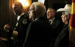 John McCain, Jon Kyl, Larry Dever, Paul Babeu