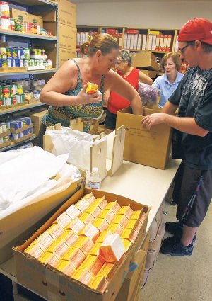 Church shows generosity to those in need