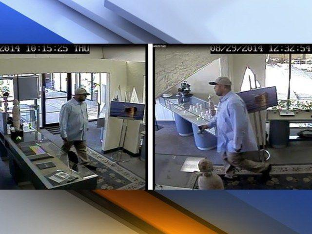 Police searching for suspect in mesa jewelry store robbery for Jewelry stores mesa az