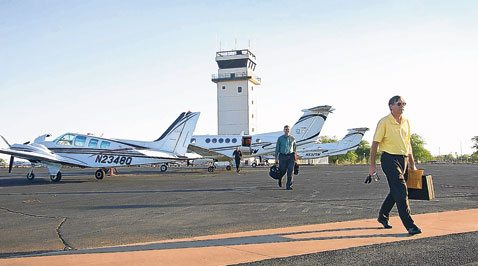 Chandler airport gives city's economy a lift
