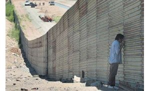 Barriers erected along the San Luis border give a peek of what immigration reform could bring